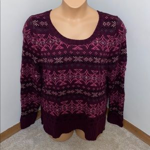 Maurices Nordic Pullover Sweater